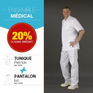Ensemble tunique Patrick Pantalon Luc